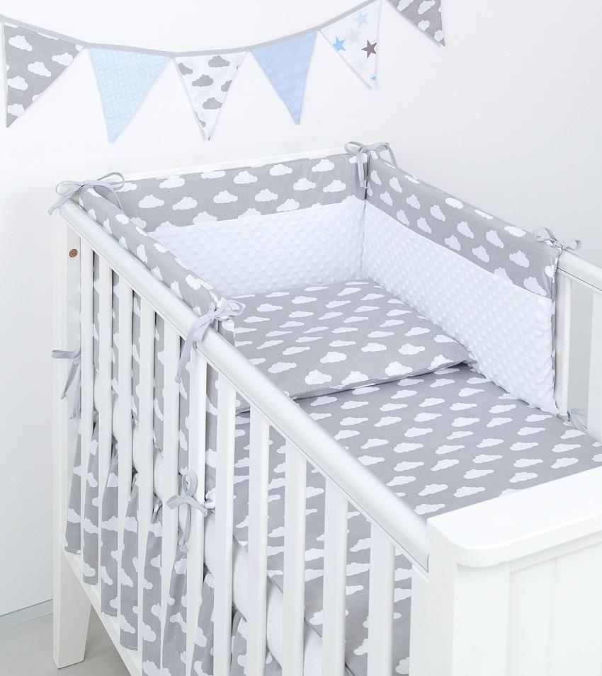 3 tlg bettw sche mit nestchen minky baby set 135x100 f r kinderbett 70x140 neu 1 ebay. Black Bedroom Furniture Sets. Home Design Ideas