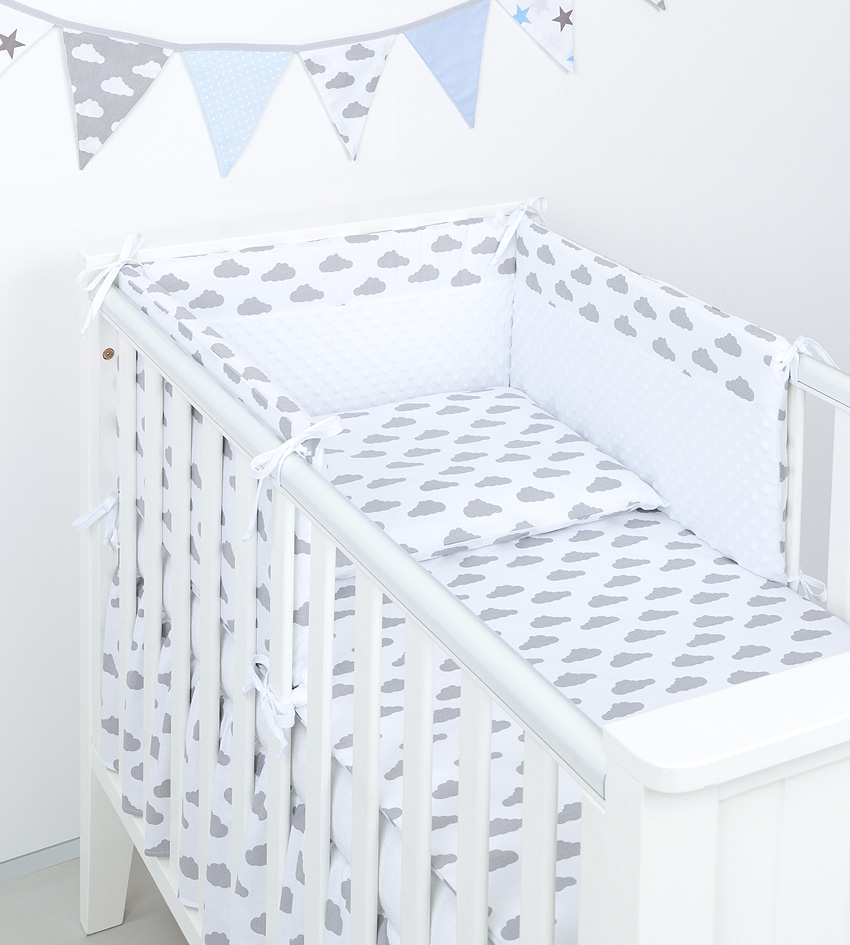 3 tlg bettw sche mit nestchen minky baby set 135x100 f r kinderbett 70x140 neu 2 ebay. Black Bedroom Furniture Sets. Home Design Ideas
