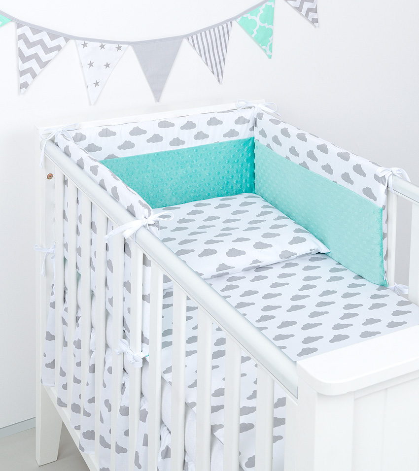 3 tlg bettw sche mit nestchen minky baby set 135x100 f r kinderbett 70x140 neu 5 ebay. Black Bedroom Furniture Sets. Home Design Ideas