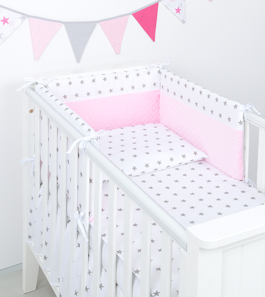 3 tlg bettw sche mit nestchen minky baby set 135x100 f r kinderbett 70x140 neu10 ebay. Black Bedroom Furniture Sets. Home Design Ideas
